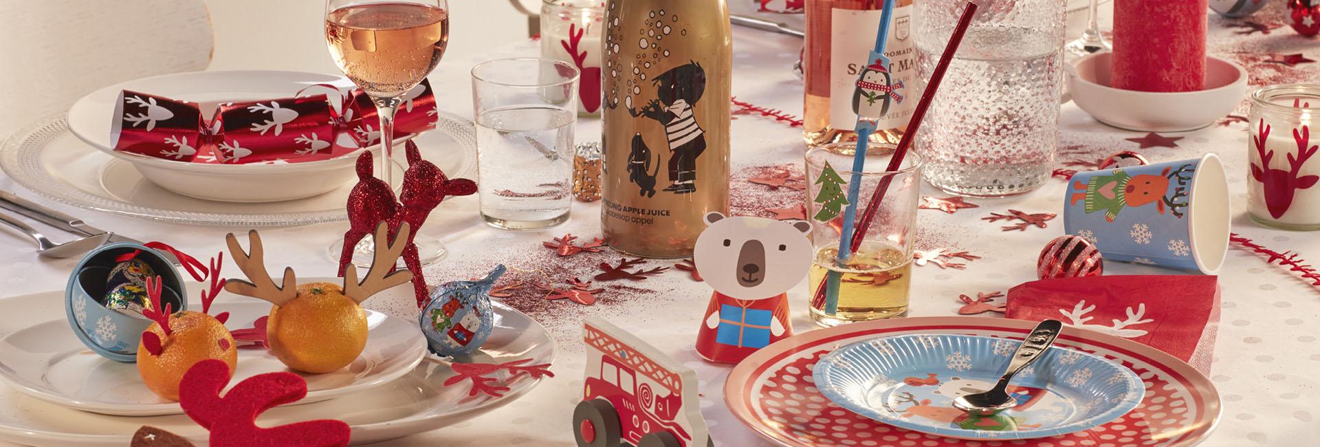 kersttafel kinderen