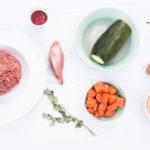 gehaktballetjes met verstopte groenten en ovenfriet