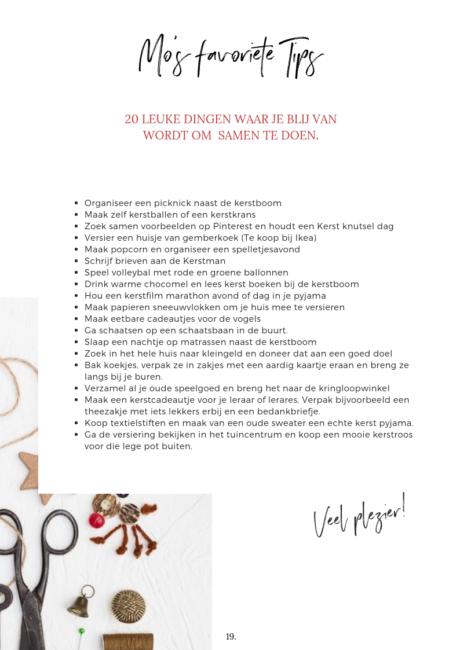 20 leuke dingen om te doen tijdens de kerstvakantie