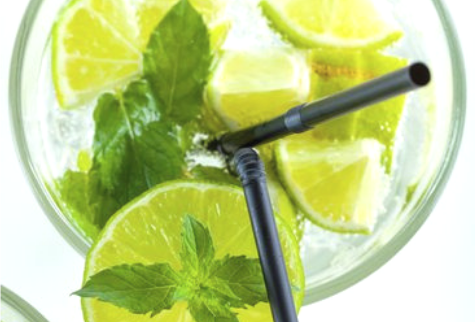 Alcoholvrije mojito met limoen