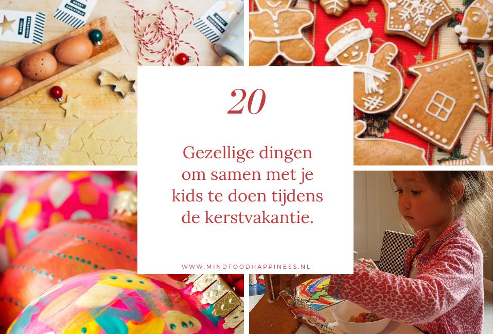 20 gezellige dingen om tijdens de kerstvakantie te doen