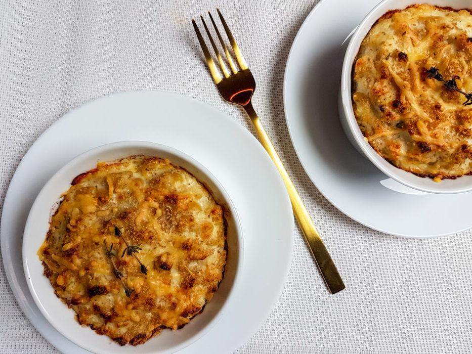 Healthy Mac 'n Cheese met bloemkool