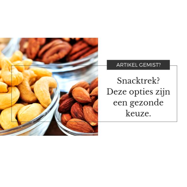 10 gezonde snacks