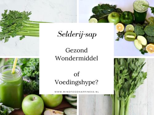 Selderij-sap: Wondermiddel of voedingshype