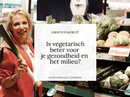 Is vegetarisch beter voor je gezondheid en het milieu