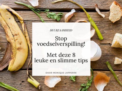 artikel cover 8 tips tegen voedselverspilling