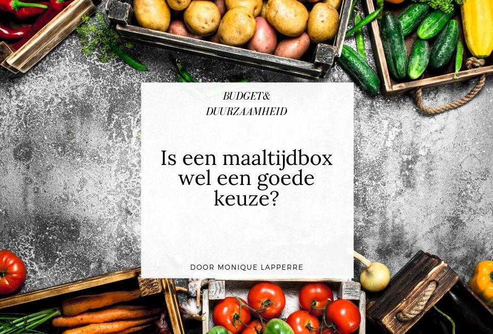 Is een maaltijdbox wel een goede keuze